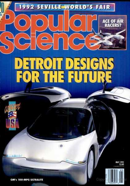 Popular Science - Popular Science - May 1992