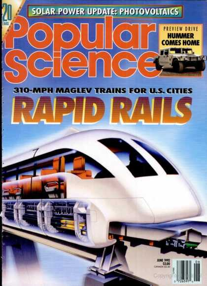 Popular Science - Popular Science - June 1992