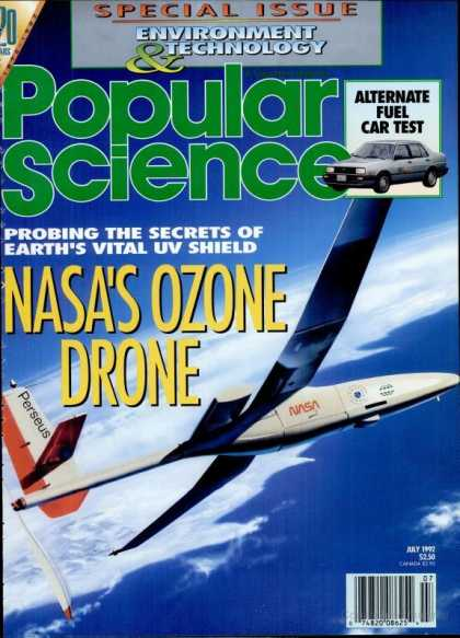 Popular Science - Popular Science - July 1992