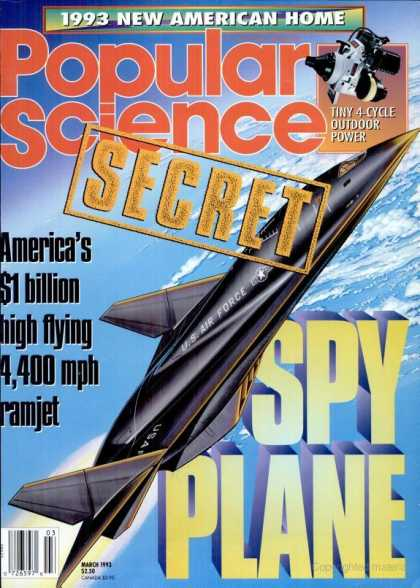 Popular Science - Popular Science - March 1993