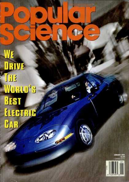 Popular Science - Popular Science - January 1994