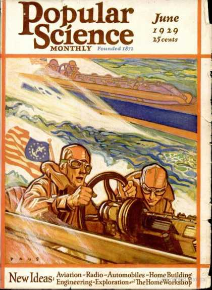 Popular Science - Popular Science - June 1929