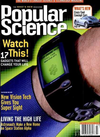 Popular Science - Popular Science - March 2001