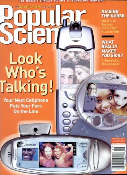 Popular Science - Popular Science - April 2001