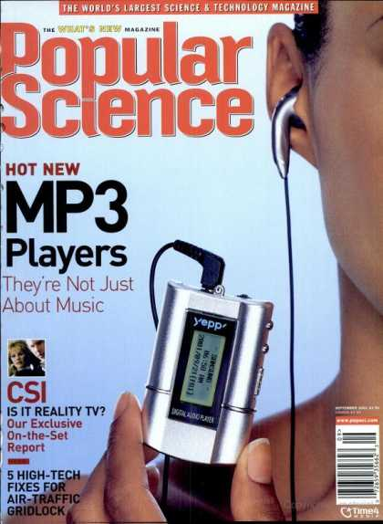 Popular Science - Popular Science - September 2001