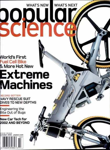 Popular Science - Popular Science - October 2001