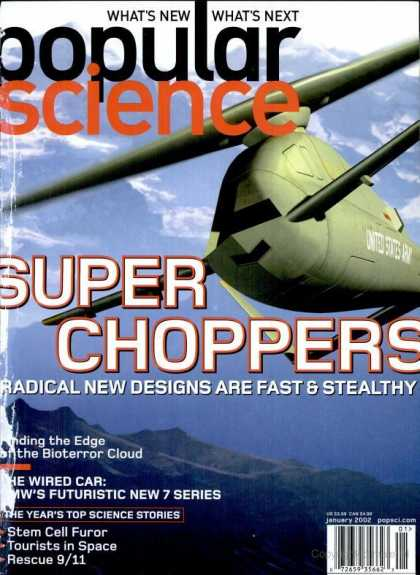Popular Science - Popular Science - January 2002