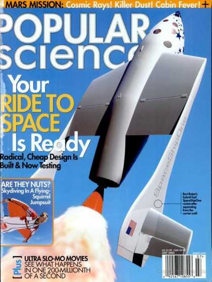 Popular Science - Popular Science - July 2003