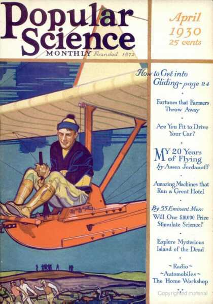 Popular Science - Popular Science - April 1930