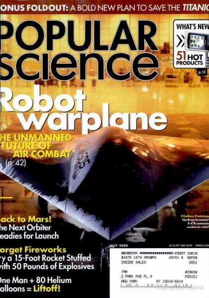 Popular Science - Popular Science - July 2005