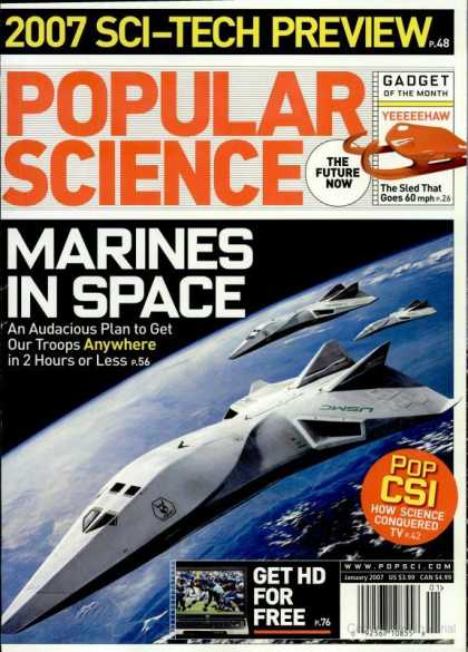 Popular Science - Popular Science - January 2007