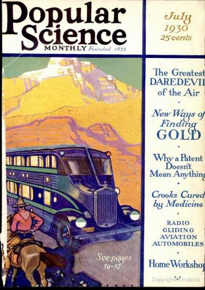 Popular Science - Popular Science - July 1930