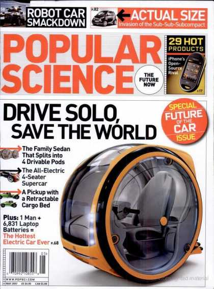 Popular Science - Popular Science - May 2007
