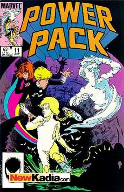 Power Pack 11 - Children - Heroes - Eyes - Marvel - Water - Bob Wiacek