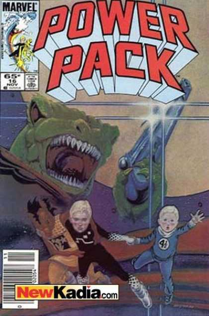 Power Pack 16 - Power - Marvel - 65c 16 Nov - Newkadiacom - Pack