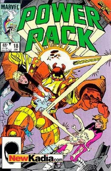 Power Pack 18 - Light - Letters - Number - Signs - Mask - Walter Simonson