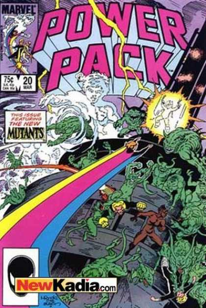 Power Pack 20 - Mike Mignola, Terry Austin