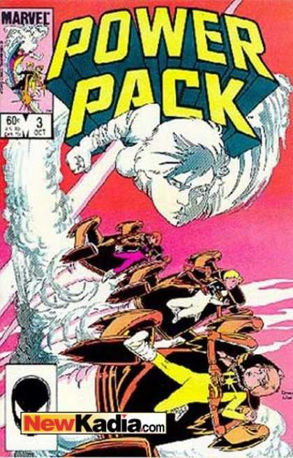 Power Pack 3 - Marvel - October - Newkadiacom - Red Pink Cover - 6 - Colleen Doran, Terry Austin