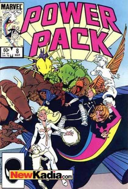 Power Pack 8 - Power Pack - The Orgy - Who Let The Green Thing Into The Room - The Drugs Are Kicking In - Help