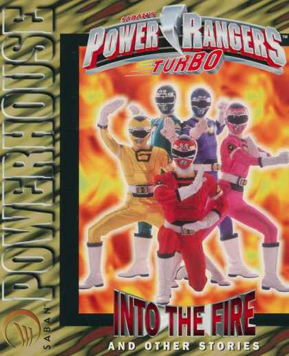 Power Rangers Turbo: Into the Fire 1 - Costumes - Colorful - White Boots - Posing - Helmet