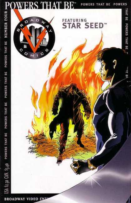 Powers That Be 4 - Star Seed - Broadway Comics - Fire - Red V - Side Profile