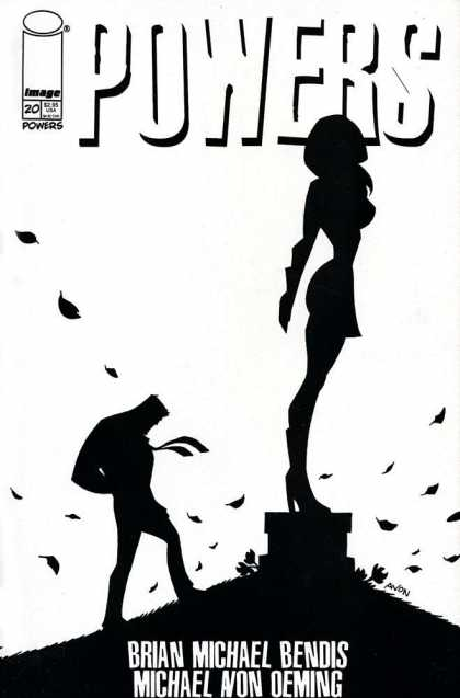 Powers 20 - Power - Shadow - Girl - Man - Leaves - Michael Oeming