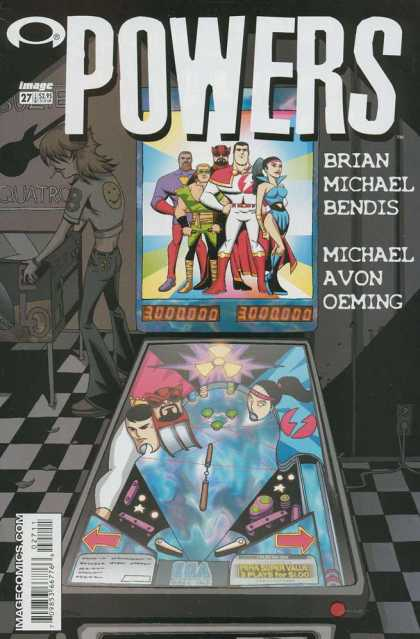 Powers 27 - Image - Imagecomicscom - Arrow Mark - Brain Michael Bendis - Michael Avon Oeming - Michael Oeming