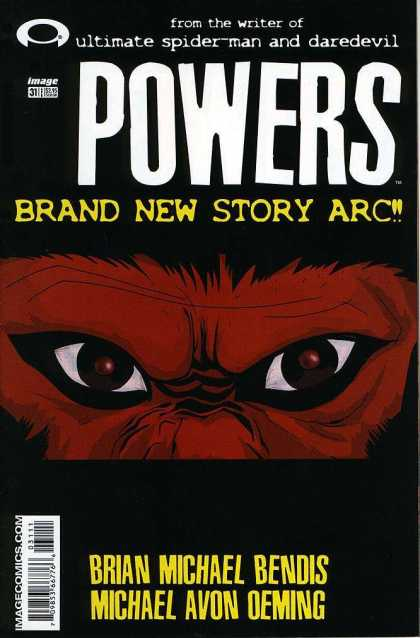 Powers 31 - Peeking - Spying - In The Dark - Agitated - Looking - Michael Oeming