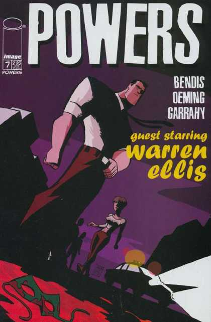 Powers 7 - Warren Ellis - Super - Freak - Mutant - Alien - Michael Oeming