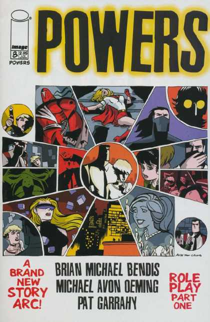 Powers 8 - Issue 8 - Girl - Mark - Gun - Doctor - Michael Oeming