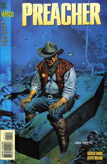 Preacher 11 - Wild West Sailor - Lonely - Departed - Its Time For Me Dad - Destiny