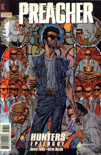 Preacher 17 - Gods Avenger - The Word Is His Law - Chalice - Chalices And Cigarettes - Smokin The Word