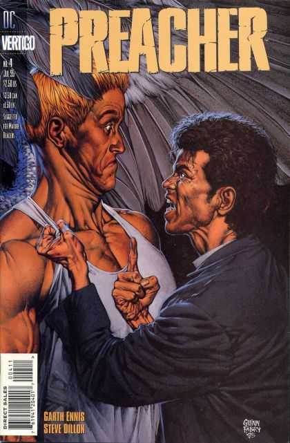 Preacher 4 - Priest - Confront - Muscled - Shout - Startled