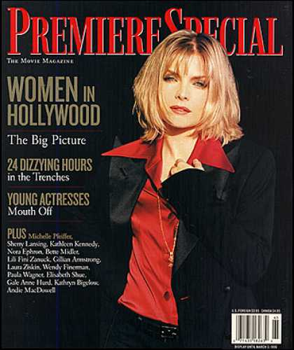 Premiere - Women in Hollywood 1996