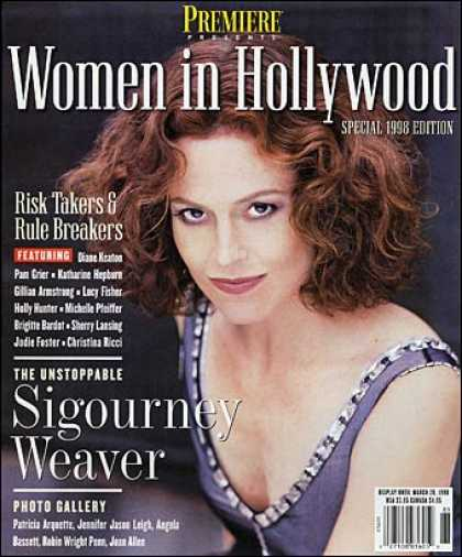 Premiere - Women in Hollywood 1998