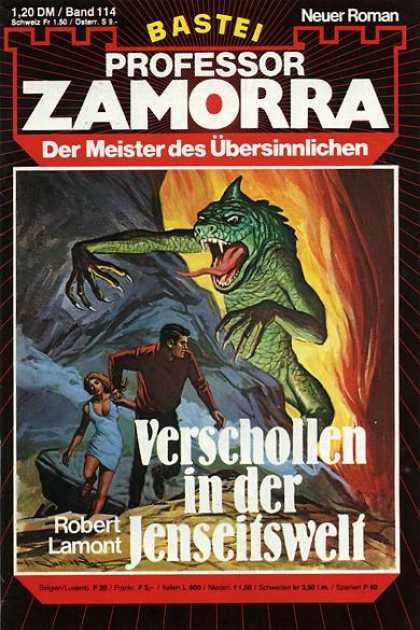 Professor Zamorra - Verschollen in der Jenseitswelt - Monster