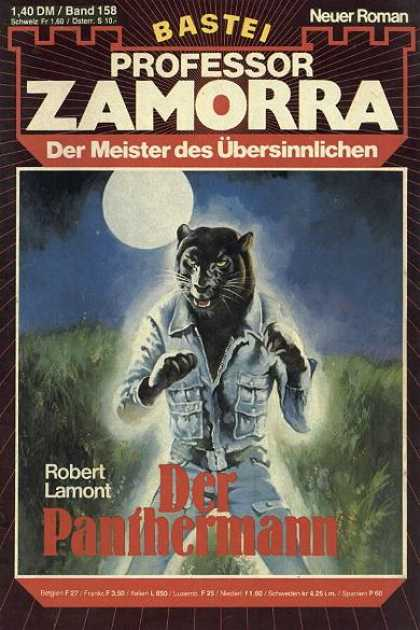 Professor Zamorra - Der Panthermann