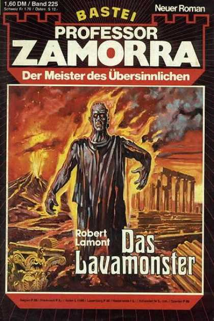 Professor Zamorra - Das Lavamonster