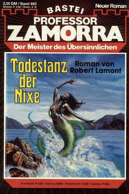 Professor Zamorra - Todestanz der Nixe - Mermaid