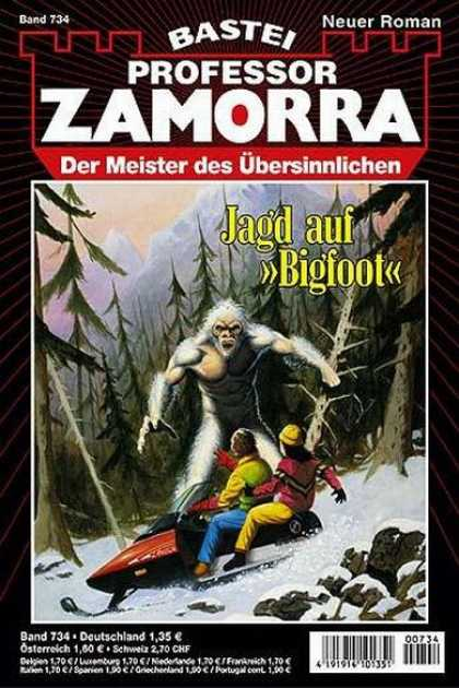 "Professor Zamorra - Jagd auf ""Bigfoot"""