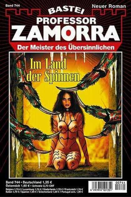 Professor Zamorra - Im Land der Spinnen