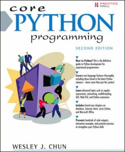 Programming Books - Core Python Programming (2nd Edition) (Core Series)