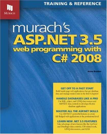 Programming Books - Murach's ASP.NET 3.5 Web Programming with C# 2008