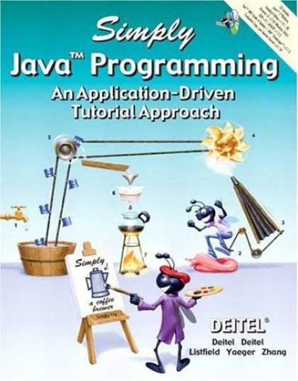 Programming Books - Simply Java Programming: An Application-Driven(TM) Tutorial Approach