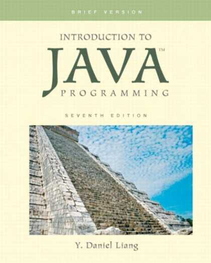Programming Books - Introduction to Java Programming, Brief Version (7th Edition)