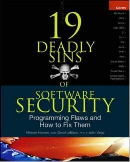 Programming Books - 19 Deadly Sins of Software Security: Programming Flaws and How to Fix Them (Secu