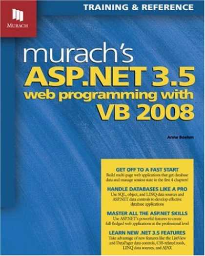 Programming Books - Murach's ASP.NET 3.5 Web Programming with VB 2008