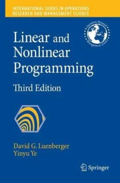 Programming Books - Linear and Nonlinear Programming (International Series in Operations Research &