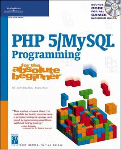 Programming Books - PHP 5 / MySQL Programming for the Absolute Beginner