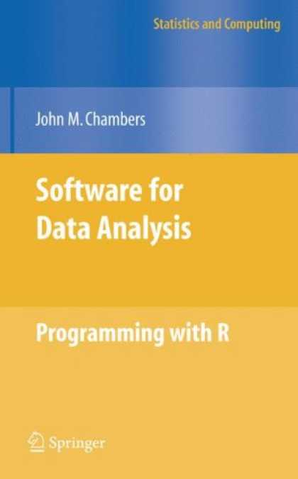 Programming Books - Software for Data Analysis: Programming with R (Statistics and Computing)
